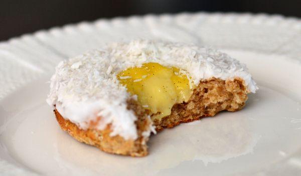 Sukkerfrie og fiberrike skolebrød med hjemmelaget vaniljekrem