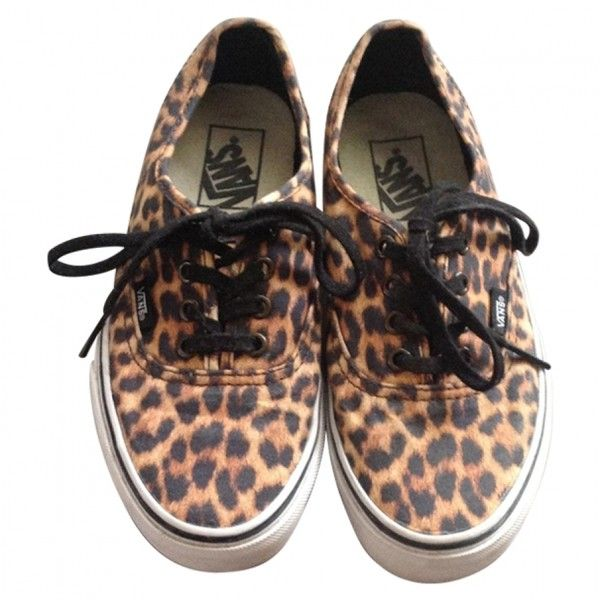 COLLECTIBLE LEOPARD VANS (110 CAD) ❤ liked on Polyvore featuring shoes, sneakers, leopard shoes, vans footwear, vans shoes and leopard print shoes
