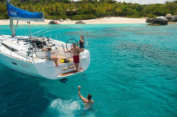 Ultiem ontspannen, dat doe je op de Britse Maagdeneilanden... #Cariben #BVI