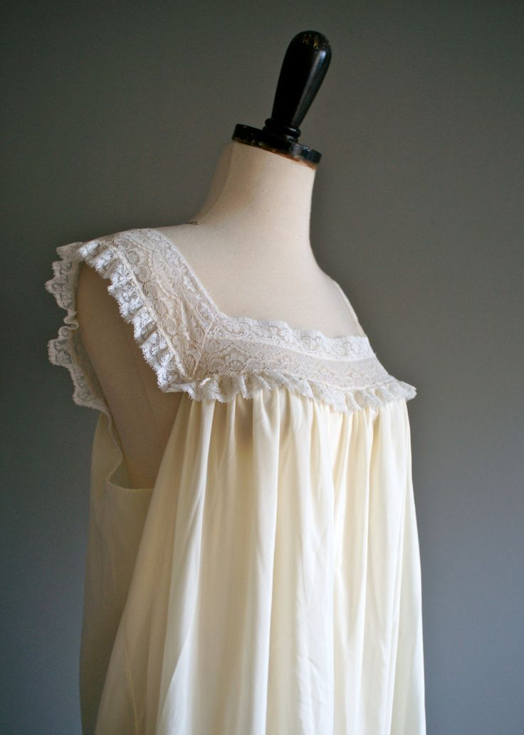 295 Best Images About Cotton Nightgowns On Pinterest