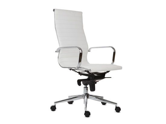 scandinavian office chairs. Scandinavian Designs - Chairs Ovata High Back Desk Chair-WH Office