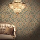 Baresque Entice - Shimmer wallcoverings