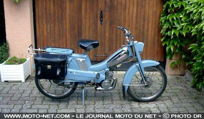 mobylette 1950 1970 motob cane mobylette 50 cc 1970 exposition moto et scooters. Black Bedroom Furniture Sets. Home Design Ideas