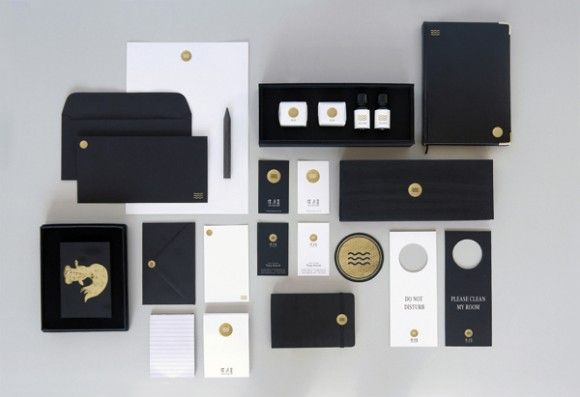 MOON WATER HOME HOTEL -Branding / Identity / Design | #stationary #corporate #design #corporatedesign #logo #identity < < repinned by www.BlickeDeeler.de | Follow us on www.facebook.com/BlickeDeeler