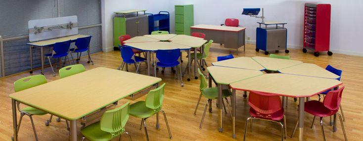 Collaborative Classroom Ideas ~ Shelving systems for classrooms collaborative learning