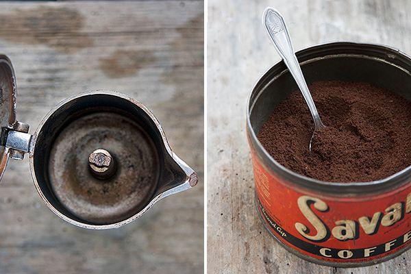 Caffè e caffettiera