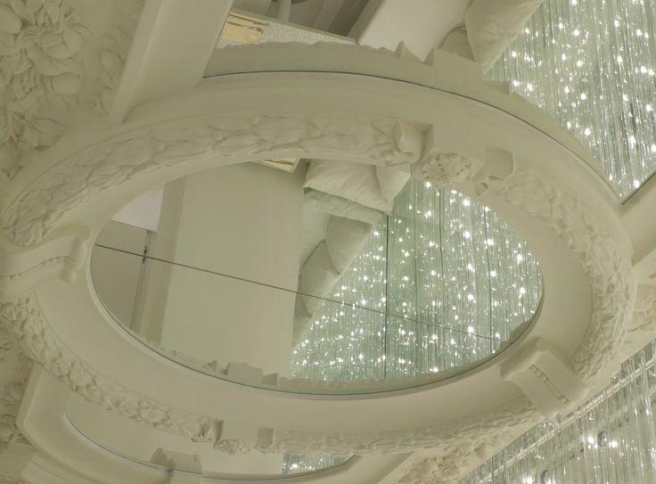Dettagli Rifiniture per Riistorante Biancoro - Napoli #design #rifiniture #gesso #eleganza #esclusiva