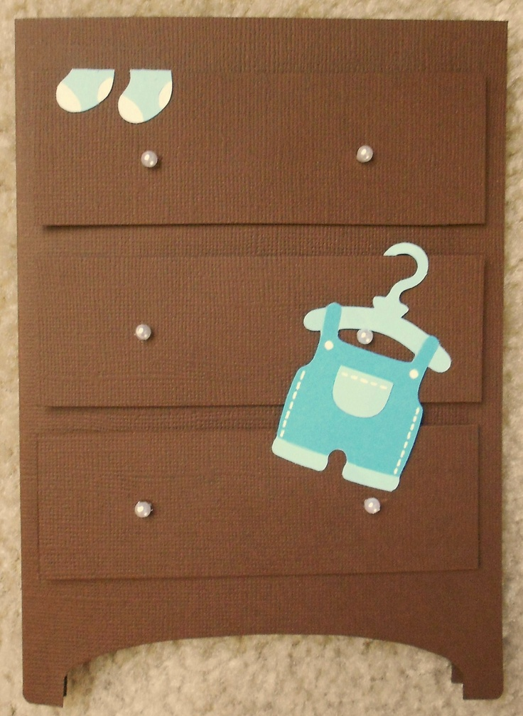 42 Best Images About Cricut Cards Baby On Pinterest