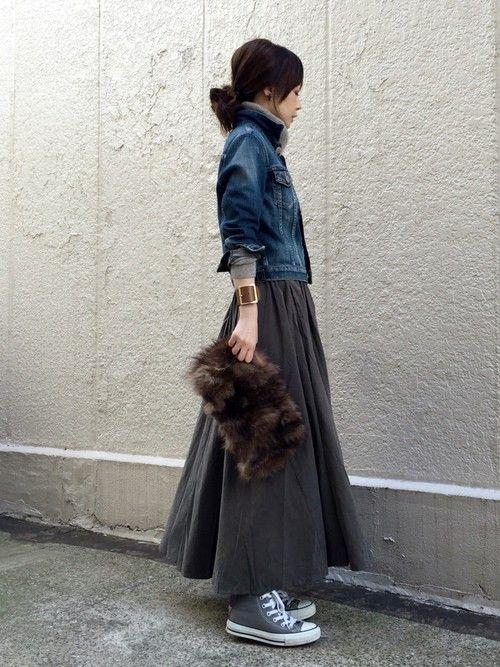 antiquaのスカート「デザインスカート」を使ったari☆のコーディネートです。WEARはモデル・俳優・ショップスタッフなどの着こなしをチェックできるファッションコーディネートサイトです。