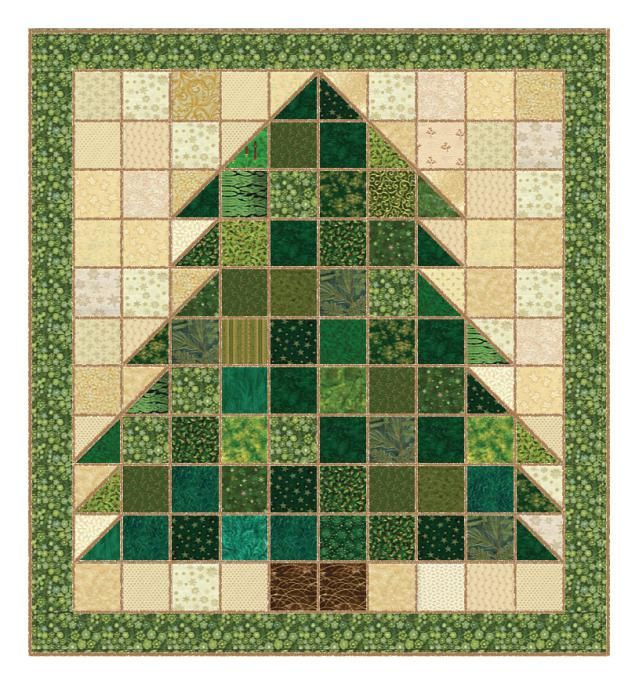 My Christmas Tree rag quilt pattern is an easy quilting project that's suitable for quilters of all skill levels. A soft and cuddly rag quilt project.: Make a Christmas Tree Rag Quilt