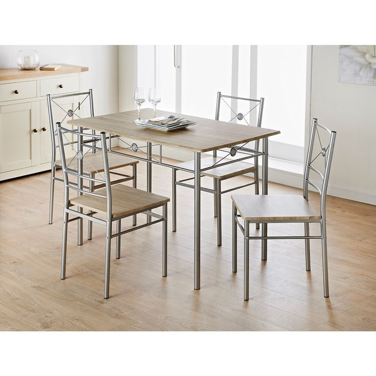 Table And Chairs Set Cheap: Carolina 5 Piece Dining Set
