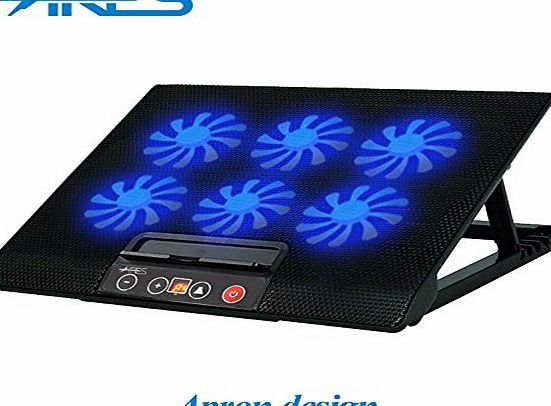 Ares  N8 6 Fans Large LED Speed Display Notebook Cooling Pad Stand Laptop Cooler Mat Tray For 13.3`` 14`` No description (Barcode EAN = 6755103126075). http://www.comparestoreprices.co.uk/december-2016-week-1/ares-n8-6-fans-large-led-speed-display-notebook-cooling-pad-stand-laptop-cooler-mat-tray-for-13-3-14.asp