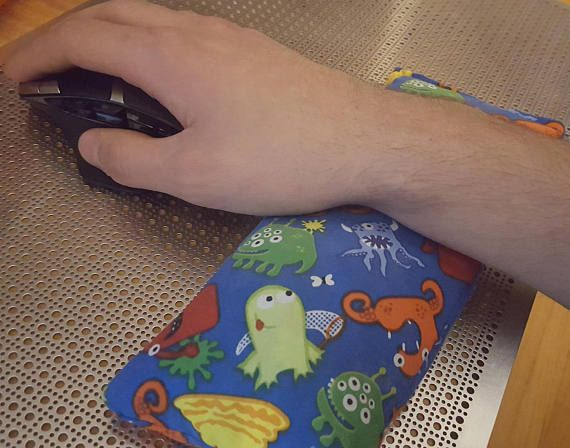 Custom Mouse Pad Wrist Rest Support for Desktop PC Computer