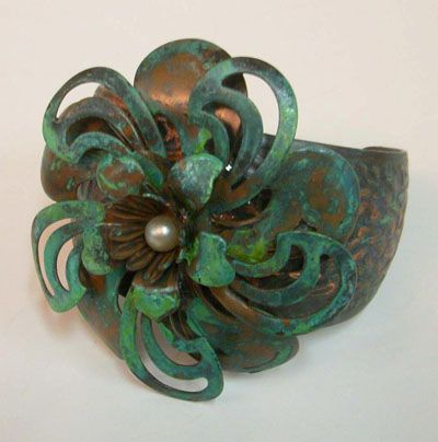 How to Use Swellegant Metal Coatings Patinas and Dye Oxides by Brenda Sue Lansdowne - B'sue Boutiques - Vintage Jewelry Supplies and Free Jewelry Tutorials