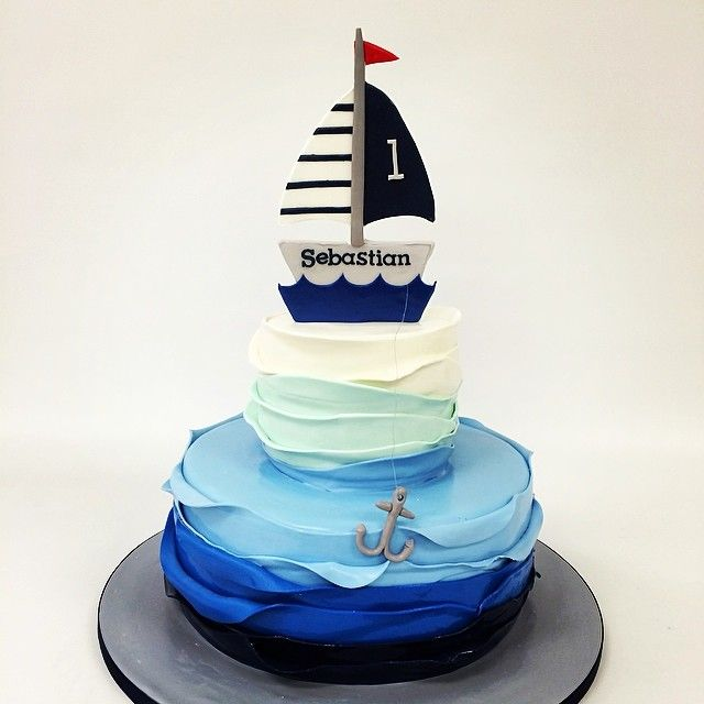25+ Best Ideas About Anchor Birthday Cakes On Pinterest
