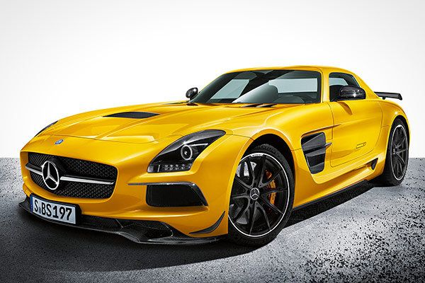 """""""With 622 horsepower from its 6.2-liter V8 — the new SLS AMG Black Series is now the most capable Mercedes-Benz ever produced,"""" he said. """"A zero-to-60 time of 3.5 seconds and a top speed of 196 miles per hour reflect the capabilities of this Benz, as do the carbon fiber rear wing and braking components."""""""