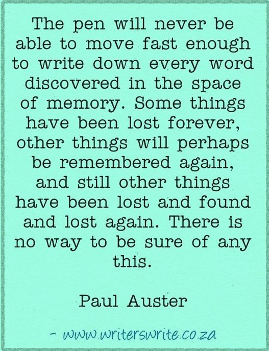 paul auster essay Montaigne and auster, the essays and contemporary fiction, are also intertwined in their shared recognition of the same allusion to montaigne and donald frame is made in the second part of paul auster's autobiographical essay, report from the interior (new york, henry holt and company.