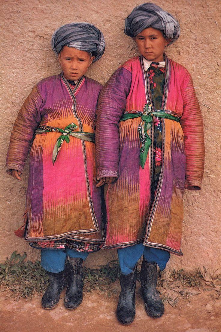Travel Asian people Afghanistan children, Roland Michaud, Sabrina Michaud, portrait