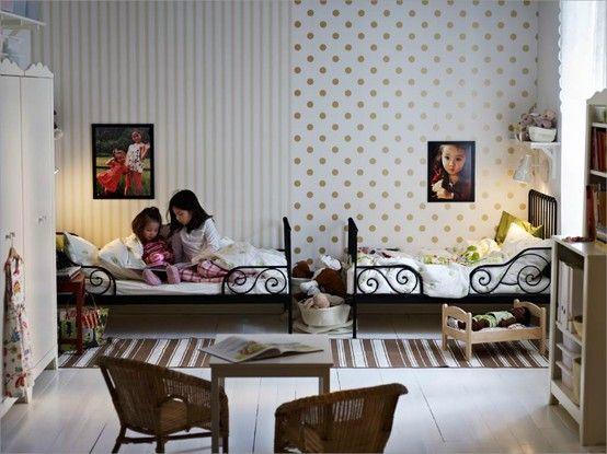 Kids Room Ideas For Two Girls 15 best co-ed kids room images on pinterest | children, nursery