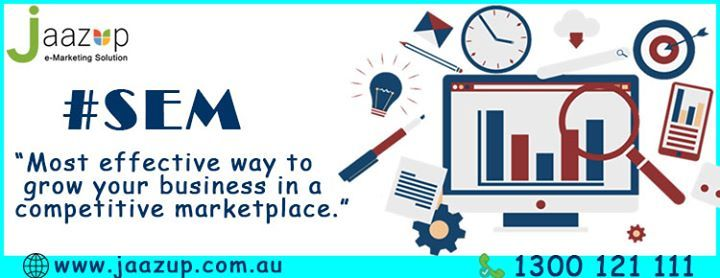 In an increasingly competitive marketplace it has never been more important to advertise online and search engine marketing is the most effective way to promote your products and grow your business. #SEM #DigitalMarketing #Adcampaign Visit: http://ift.tt/2eMUpgn - http://ift.tt/1HQJd81