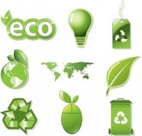 Free Vector Set of Global ECO