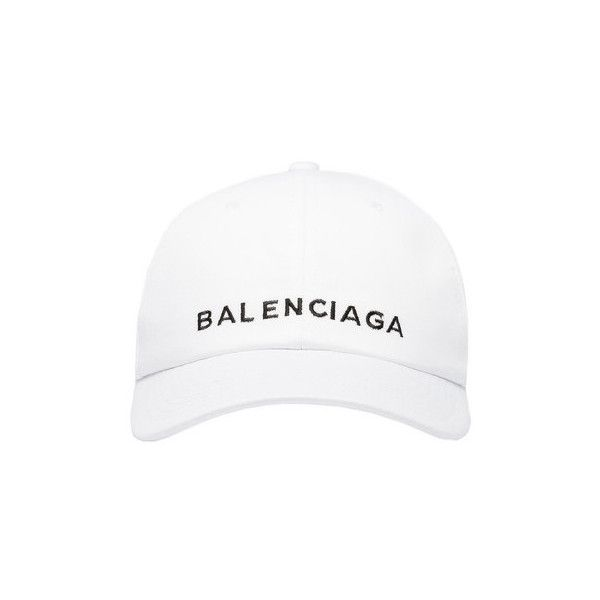 Balenciaga Cap ( 285) ❤ liked on Polyvore featuring accessories ... 69b7c38c702