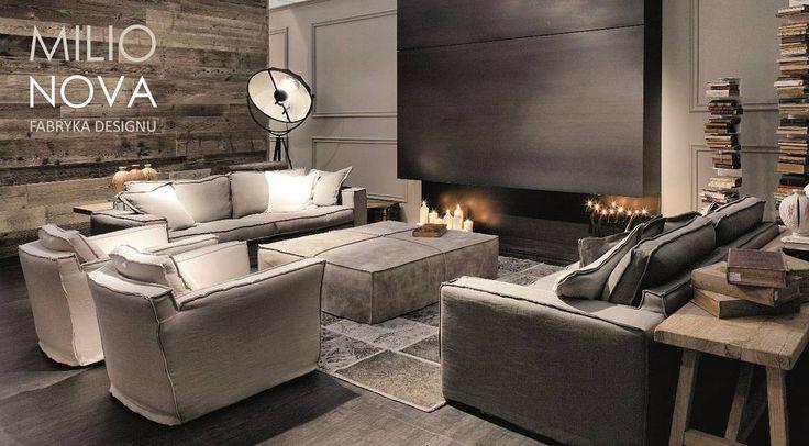 """""""Kolekcje Ville Venete już za chwilę zagoszczą w naszym salonie. Zapraszamy. #milionova #milionovafabrykadesignu #design #sofy #sofa #meble #ldz #lodz…"""""""