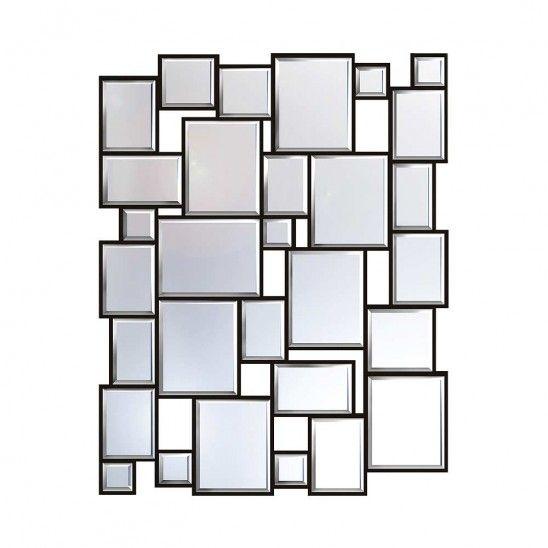 Miroir Block 30 po x 40 po - Linen Chest