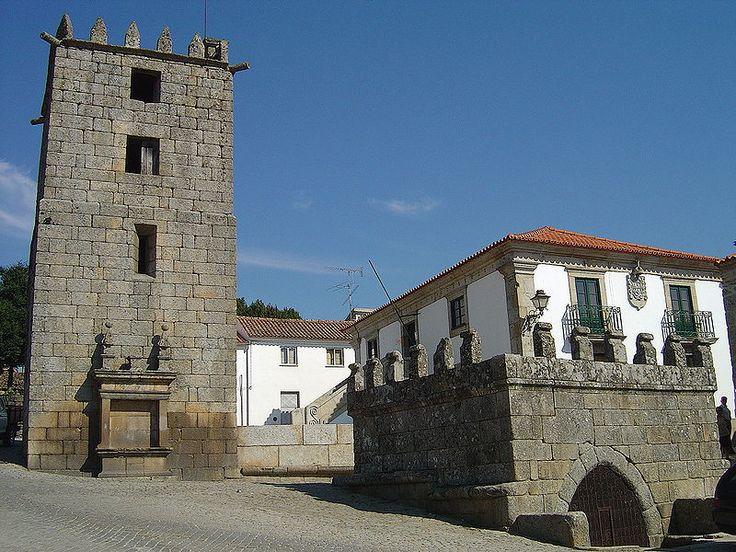 Aguiar da Beira, Distrito da Guarda: Fonte da Ameada e Torre da Ameada.