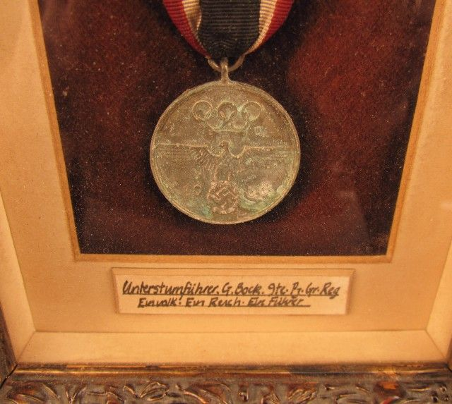 1936 German Olympic Decoration for German SS - XI Olympiad Co