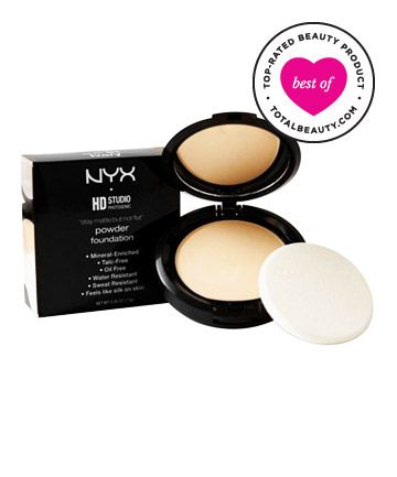 Best Foundation for Oily Skin No. 4: NYX Cosmetics Stay Matte But Not Flat Powder Foundation, $9.50