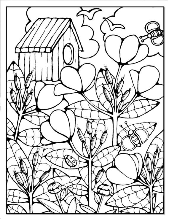 116 best Coloring Pages Structures images on Pinterest