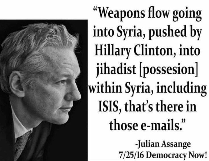 WIKILEAKS Proves TRUMP IS RIGHT: Hacked Emails Include Info On Hillary's Arming of Jihadists, Including ISIS  Jim Hoft Aug 11th, 2016