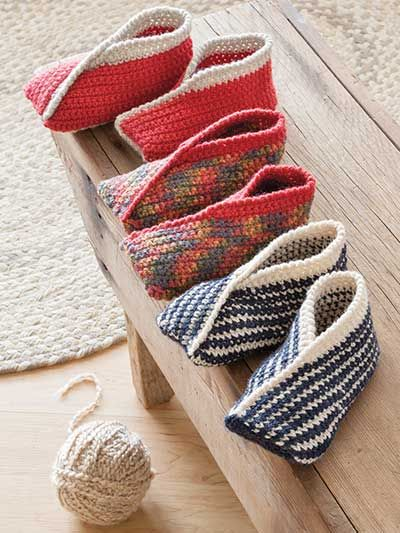Use keycode ANNIES to save 50% on select crochet downloads at Annie's through Dec 17th. Crochet Downloads - ANNIE'S SIGNATURE DESIGNS: Tiptoe Crochet Slippers
