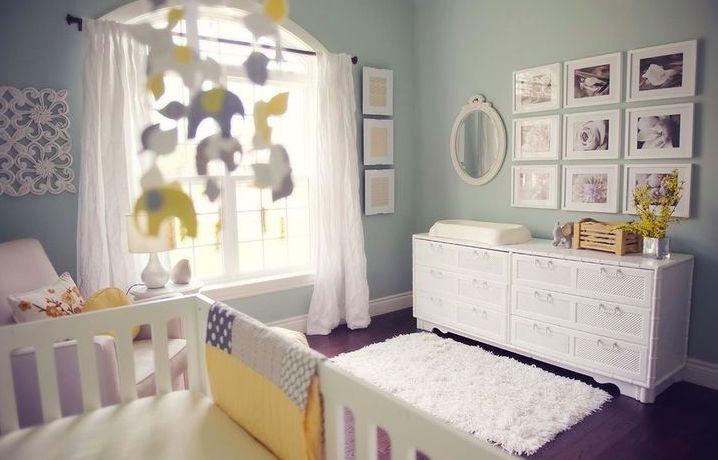 Arredamento neonato ~ Oltre fantastiche idee su colori per camera del neonato su