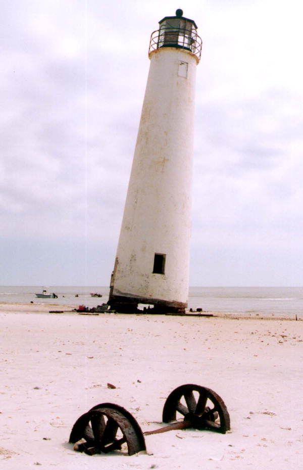Cape Saint George lighthouse - Saint George Island, Florida   www,facebook.com/loveswish