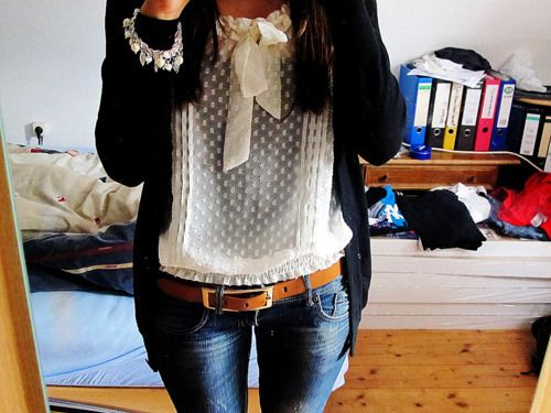 Classy casual: Fashion, Style, Dream Closet, Clothes, Outfit, Bow, Fall Winter