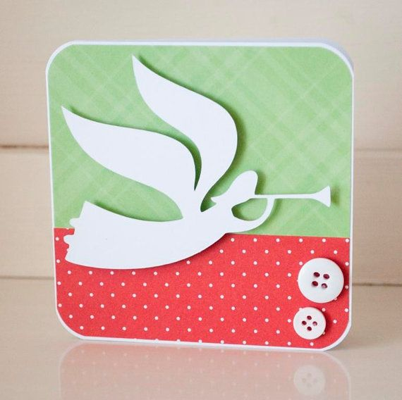 Christian Christmas Card Angel Merry Christmas by ...