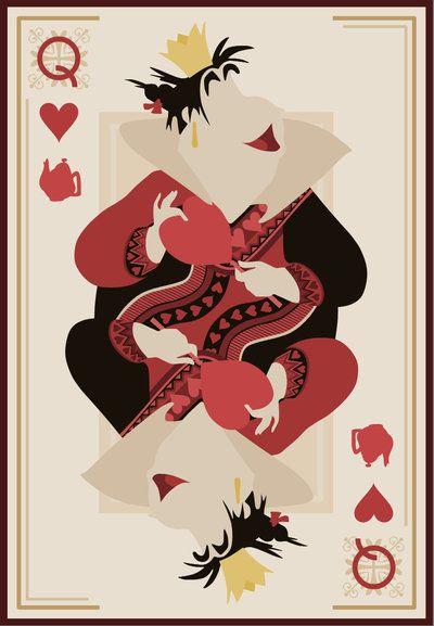Disney Malvadas Rainha de Copas Alice