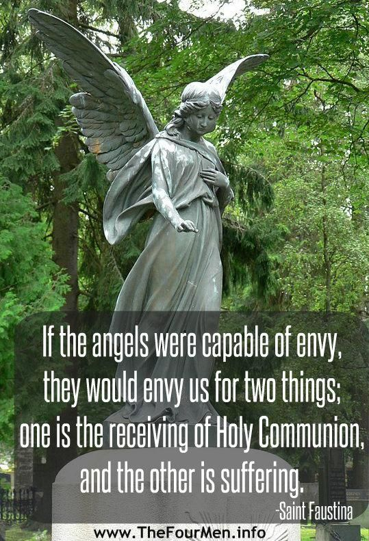Our Guardian Angels are our most faithful friends, because they are with us day and night, always and everywhere