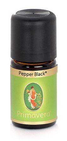 Black Pepper Oil 5mL (organic) by Primavera