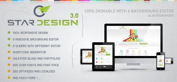 CStar Design – Creative Responsive Corporate, Business WordPress Theme