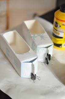 Juice carton boats