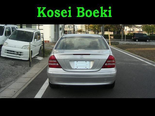 Used Mercedes C-class ( C180 Kompressor Class ) 2003 (Sedan) #JapaneseusedCars