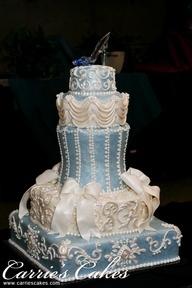 cinderella wedding cake - Google Search