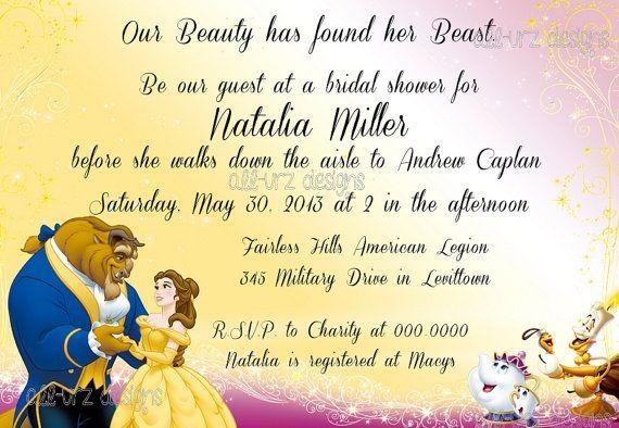 Beauty And The Beast Themed Wedding Invitations: Pinterest • The World's Catalog Of Ideas