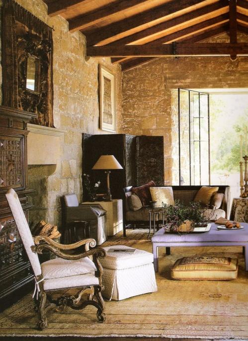 51 best images about john saladino admiration on pinterest ottomans santa barbara and - Residence de luxe montecito santa barbara ...
