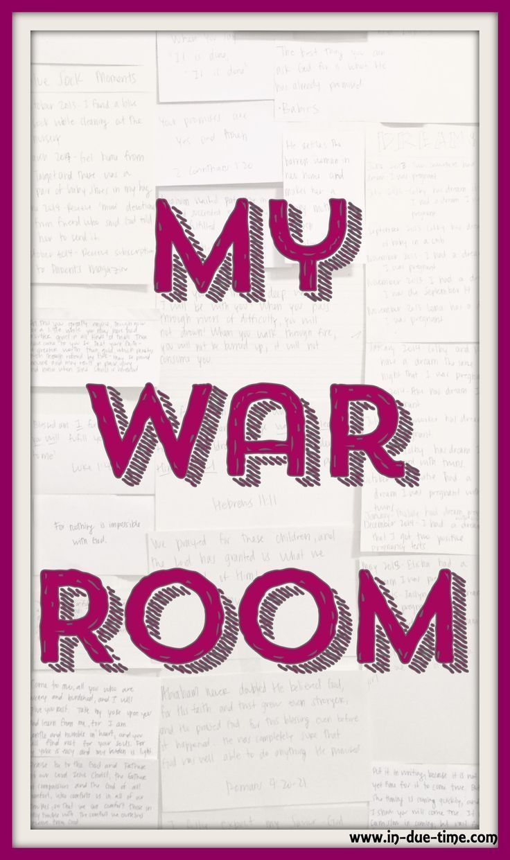 This is MY war room! I have gone to battle for our babies and I can't wait to tell them that their bedroom was first my war room.  What war are you in? Would you ever consider making a war room?