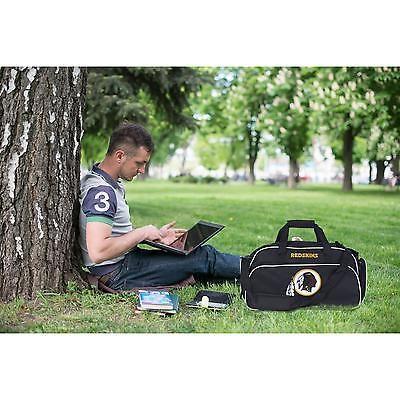 Duffel Bag Gym Washington Redskins Stymie Tote Football Athletic Workout Luggage