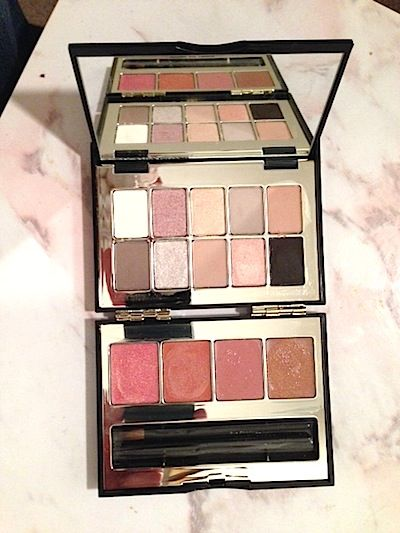 Makeup Review, Swatches: Bobbi Brown 2013 Holiday Gift Guide – Nude Glow Shimmer Brick, Date Night Lip, Smokey Cool Eye, Twilight Pink Lip Eye Palette